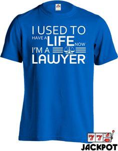 Lawyer humor tee
