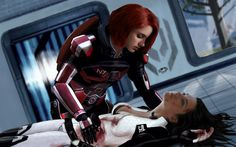 Mass Effect 3 - Miranda's death by ilLoGiG.deviantart.com on @deviantART