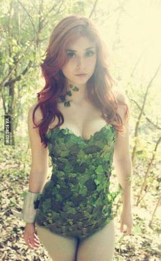 Poison Ivy-best costume.