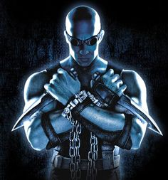 Riddick - from the movies Pitch Black (2000) and Chronicles of Riddick (2004) - played by Vin Diesel