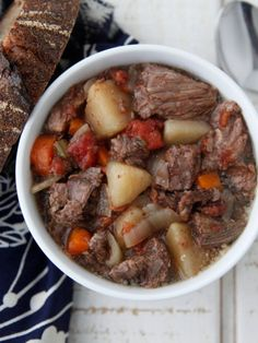 Ever since I started planning ahead and freezing some of my favorite crock pot meals before cooking them it's been a total dinner game changer for me -- not to mention a huge time saver. It's literally changed my life.  This short video will show you how to prepare your favorite meals, like this Beef Stew in the Crock Pot, long ahead of time and freeze it so all you have to do whenever you are ready to eat is remove your labeled zipper bag from the freezer, dump the contents into the ...