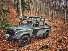 Land Rover Defender 130 Td4 Sw crew cab