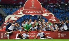 Germany Back To Top Of FIFA World Rankings ----------------- Germany leapfrogged Brazil and Argentina to move back to top the FIFA rankings released Wednesday thanks to the team winning the Confederations Cup last week.  The world champions beat Chile 1-0 in the Russia-based tournament a year out from the 2018 World Cup to ensure a first return to the top of the rankings in more than two years.   #Argentina #Brazil #Chile #Germany Back To Top Of FIFA World Rankings #Rus