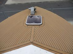use vinyl plank flooring for boat decking ,anti-slip boat decking material #supplier