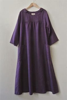 Lots of simple japanese clothing in linen