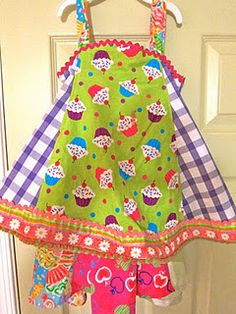 "Feliz party dress from ""Sewing Clothes Kids Love"""