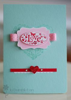 Stampin 'n Stuff: More from 'You are loved'