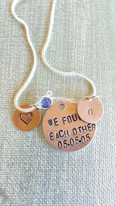 Hey, I found this really awesome Etsy listing at https://www.etsy.com/listing/231056603/forever-in-my-heart-birthmother-necklace
