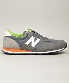 New Balance U420 Grey/Orange/Green #newbalance #sneakers #shoes #streetwear #men www.neverending-shop.de  || AcquireGarms.com