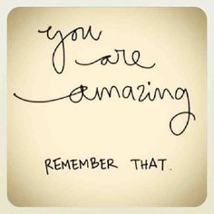 I'm amazed by you