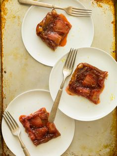 Strawberry & Rosemary Tarte Tatin