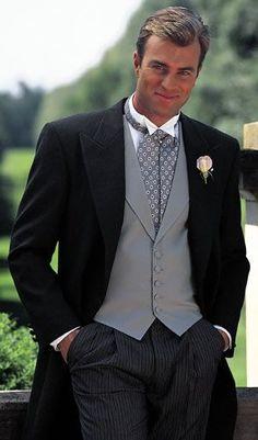 Groom + Tuxedo = truth love