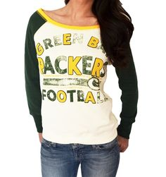 2565a3f9d64a Shop Women s Green Bay Packers apparel including fashionable football fan  Packers t-shirts