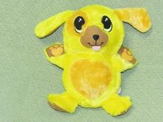 "BALL PETS Yellow Puppy Sunny Plush 2014 10"" Stuffed Animal Ball Toy Boy Girls #TelebrandsCorp"