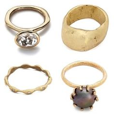 We've added new pieces to our online store! Check out the rest at www.juliecohndesign.com/collections/rings-bronze