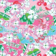 Lilly Pulitzer North Carolina State of Mind!!!