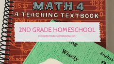 Homeschool Curriculum Ideas for and Grade Teaching Textbooks, Homeschool Curriculum, Confessions, Lesson Plans, Encouragement, Language, Lounge, Science, Activities