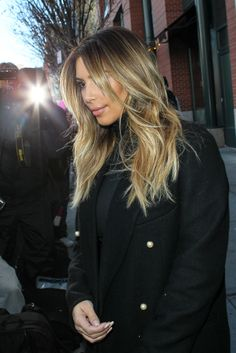 Kim Kardashian blonde! Photo: Wagner AZ