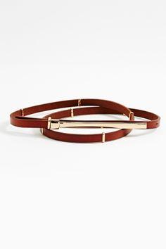 Braided Skinny Belt in Accessories at Nasty Gal