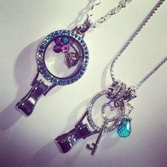 Lanyard lockets by Origami Owl #O2 Great Idea for those in Health Care Related Roles for added personal touch :0)