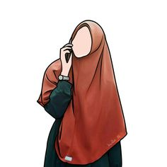 Muslim Girls, Muslim Couples, Muslim Women, Fashion Sketches, Art Sketches, Hijab Drawing, Islamic Cartoon, Anime Muslim, Hijab Cartoon