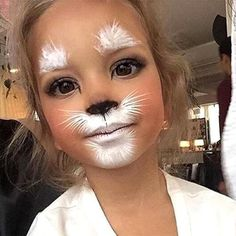 Cat Kids Makeup - Cute Kids Halloween Costumes! Over 25 of the Best DIY Halloween Ideas to inspire you on Trick or Treat night! #besthalloweencostumes