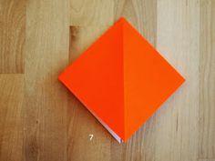 Origami Jack-O-Lantern Pumpkin Crafts To Do, Crafts For Kids, Arts And Crafts, Kid Art, Art For Kids, Origami Pumpkin, Pumpkin Art, Craft Activities