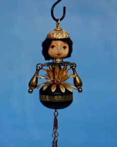art doll necklace