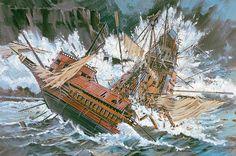 The Shipwreck of the Girona 1588