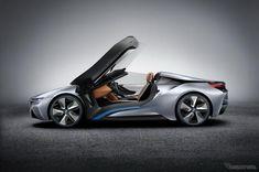 BMW i8コンセプト・スパイダー(参考画像)
