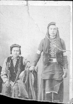 Nez Perce men - no date