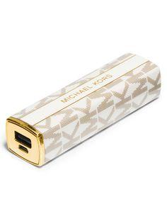 MICHAEL Michael Kors Lipstick Charger - Handbags & Accessories - Macy's