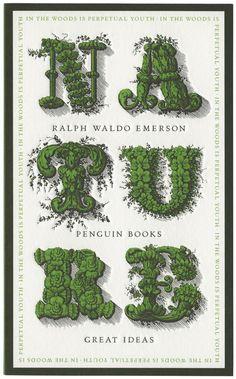 Nature -  Ralph Waldo Emerson, Penguin Books Ltd, 1999, Designer: David Pearson.
