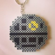 Death Star keyring - Star Wars hama beads by beadgeekcreations