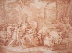 Edme Bouchardon, Les fêtes de Palès. Cambridge, The Horvitz collection. © The Horvitz Collection, Boston