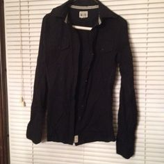 Converse one star black shirt Converse one star button down long sleeve shirt. Urban Outfitters Tops Button Down Shirts