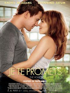 Je te promets - The Vow est un film de Michael Sucsy avec Rachel McAdams, Channing Tatum. Synopsis : Paige et Leo étaient un jeune couple heureux, jusqu'à l'accident… Si Leo s'en sort indemne, Paige se réveille de son coma en ayant tout oublié des cin