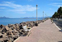 Malecón Loreto, Baja California Sur, México