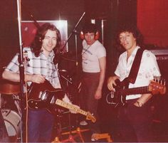 Rory Gallagher, Ted McKenna, and Gerry McAvoy in the studio (from Rory Gallagher Facebook Page) Rory Gallagher, Partition, That One Person, Light Of My Life, Concert, Lineup, Ted, Blues, The Incredibles