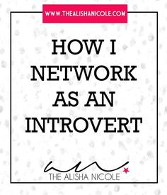 Networking for Introverts | Learn how to reach out to others as introverted woman in business. This tutorial shows how you can build a kick-ass business network to rely on.