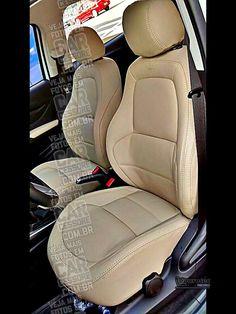GM / Chevrolet Onix branco com revestimento interno e bancos de couro creme