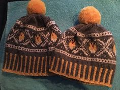Påskelue pattern by Lise Lønningen Beanies, Knitted Hats, Barn, Knitting, Pattern, Image, Fashion, Knit Hats, Moda