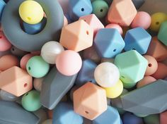 113 Silicone Beads, DIY Chewelry,  Teething Beads Wholesale, DIY Teething Toys, Teething Relief, Teething Remedies Diy Teething Toys, Teething Beads, Teething Relief, Teething Remedies, Wholesale Beads, Unique Jewelry, Handmade Gifts, Etsy, Kid Craft Gifts