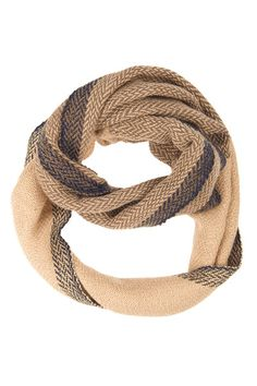 Herringbone Infinity Scarf by Faire Collection  || ACCOMPANY || 30 off with code PURPOSE