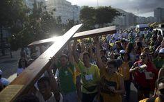 """Papa chega ao Rio de Janeiro nesta tarde para """"aproximar cristãos e Igreja"""" - Rio de Janeiro - iG"""