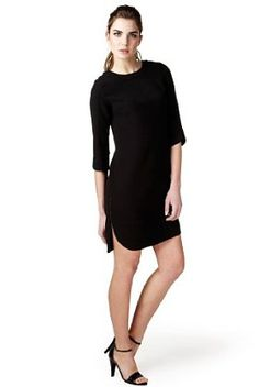 Limited Collection Zip Detail Shift Dress