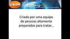 Virtual Marketing Pro - VMP Com as ferramentas disponibilizadas no Virtual Marketing Pro - VMP, qualquer negócio online decola.  Assista a uma apresentação: http://www.specialwebinar.net/vmp/?aid=33  Cadastro Direto: http://virtualmarketingpro.com/Products/show_shop/33/3/pt