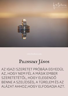 Esküvői idézet Pilinszky János Karma, Poetry, Positivity, Words, Quotes, Inspiration, Ideas, Quotations, Biblical Inspiration