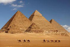 Cómo se construyeron las pirámides de Egipto es impresionante es pa el deber papa