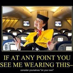 At almost any airline, you get to model the life vest. Airline Humor, Flight Attendant Humor, Pilot Humor, Cheap International Flights, Aviation Humor, Come Fly With Me, Last Minute Travel, Work Humor, Work Funnies